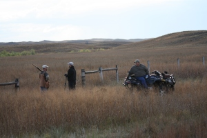 ATV hunters