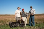 Wirehaired Pointing Griffons Nebraska Grouse Hunting