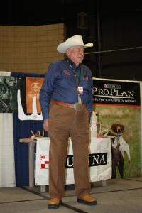 Delmar Smith speaking at Pheasant Fest 2012