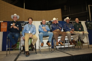 Rick Smith, Bob West, Jim Moorehouse, Delmar Smith, Ronnie Smith and Tom Dokken at Pheasant Fest 2012