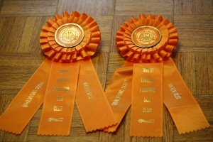 AKC Water Test Ribbons