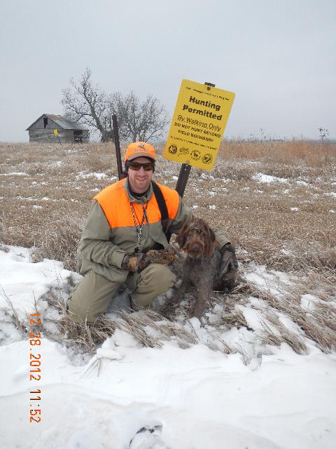 Rick and Dottie got a quail!