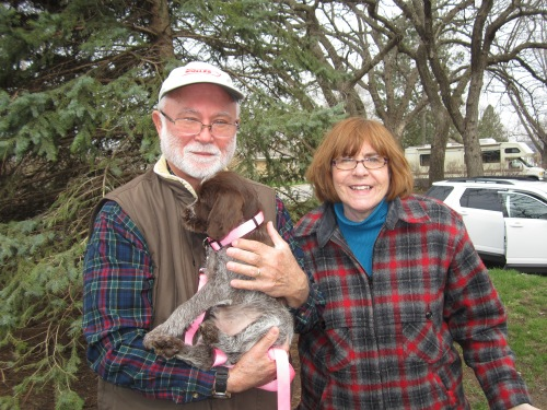 Elizabeth started the journey to Maryland with Ben and Marilyn on Tuesday.