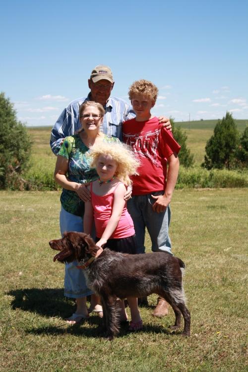 Stan, Debbie, Trey, Savannah and Sue