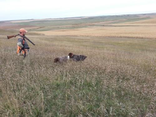 Sam bringing the sharpie into Charles.  Photo courtesy of Oscar Hollenbeck