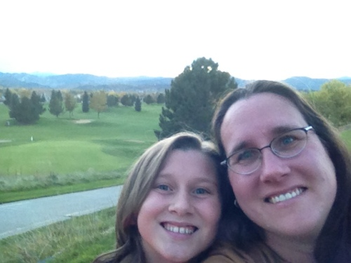 Cordelia and Charity in Colorado for AWPGA Nationals