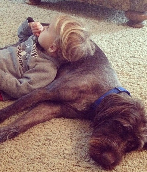 Maggie is a good kid pillow