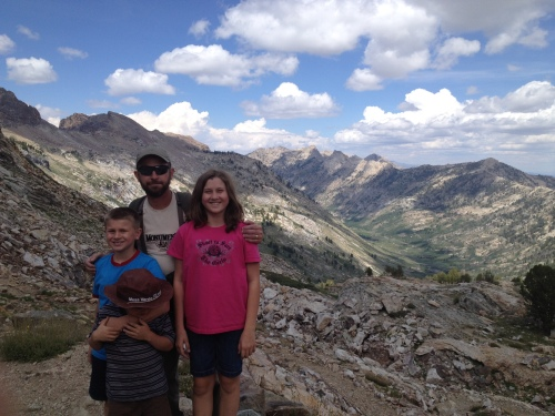 Liberty Pass at Lamoille Canyon, Ruby Mountains Wilderness, Nevada