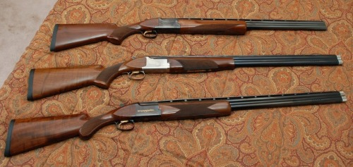 An array of Browning Citoris, from pafoa.org