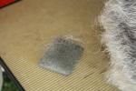 Stripping pumice stone