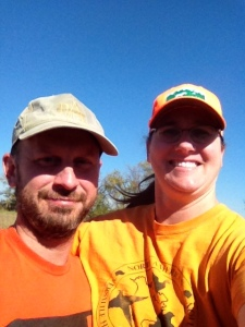 Yet another dorky hunting selfie from Charles and Charity