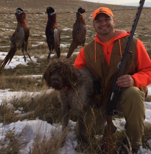 Duncan, Ernie and a North Dakota pheasant limit.
