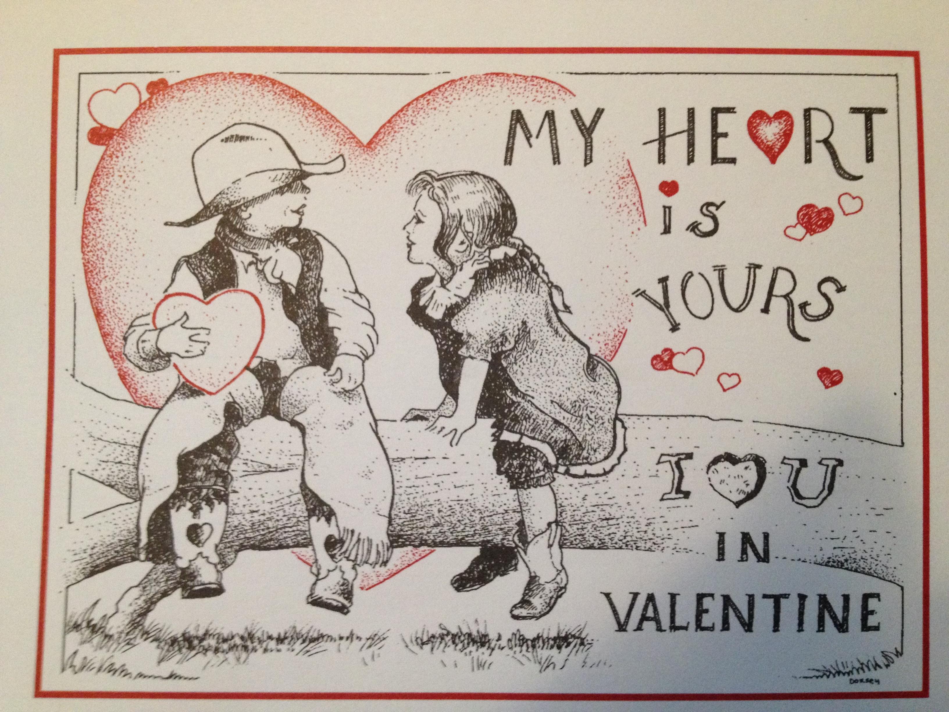 Official Valentine of Valentine, Nebraska 2015