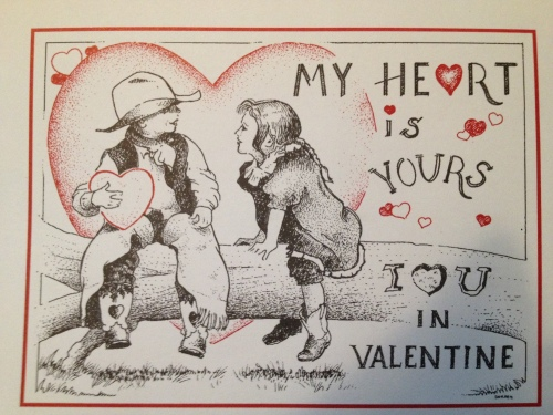 Official Valentine of Valentine, Nebraska 2015