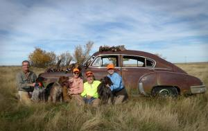 Tom, Susan and Friends on ND pheasant opener