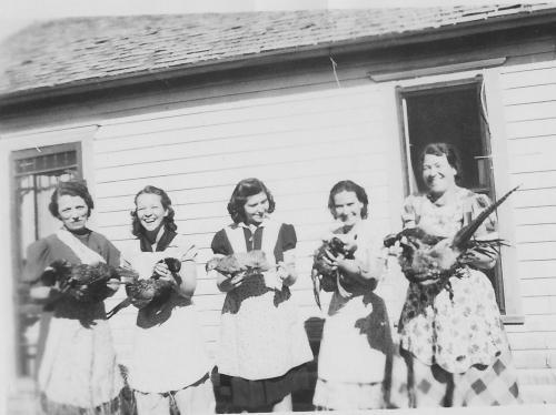 1940 Pheasant Hunt Simeon