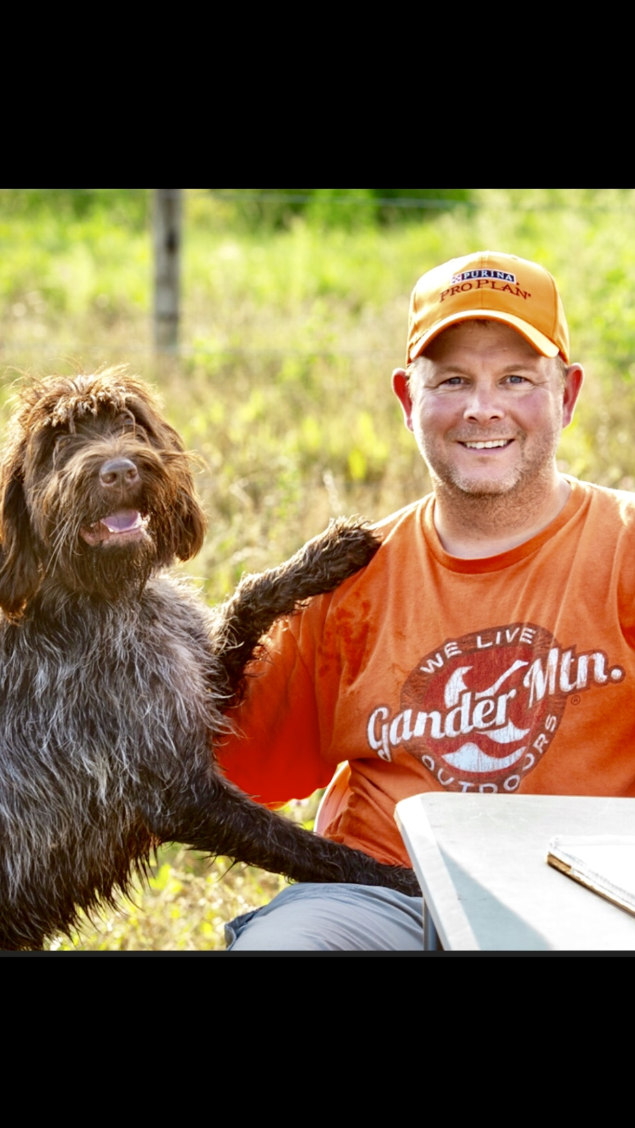 Brent and Maddy Wirehaired Pointing Griffon